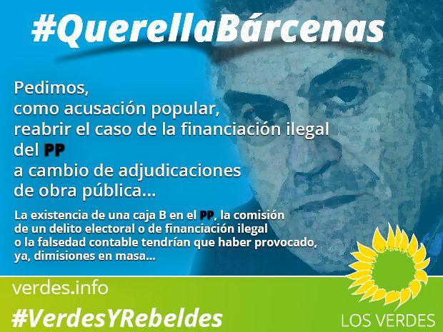 #QuerellaBárcenas: 5 organizaciones y 30.000 personas
