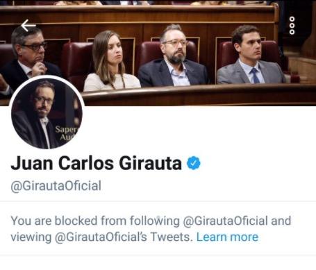 #GirautaBlock: ¿entienden los políticos las redes sociales?