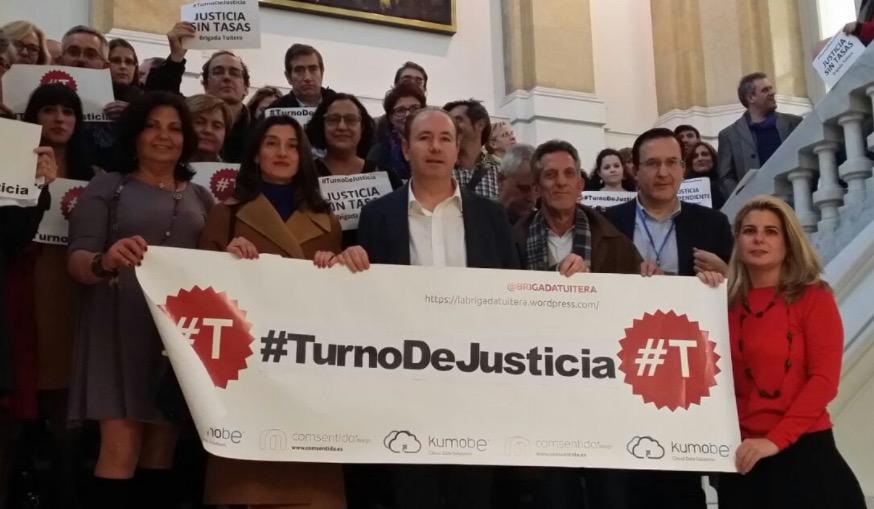 Campaña #T: movilizando a los juristas